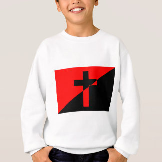 Christian Anarchist Anarchy Christianity Flag Sweatshirt