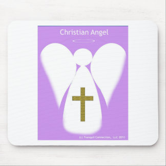 Christian Angel Mouse Pad
