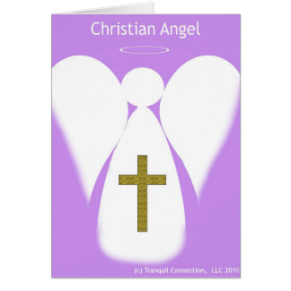 Christian Angel Note Card