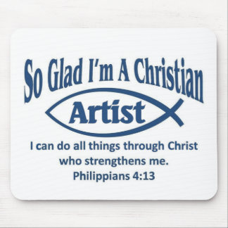 Christian Artist Mouse Pad