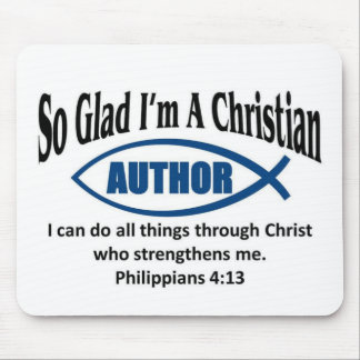 Christian Author Mouse Pads