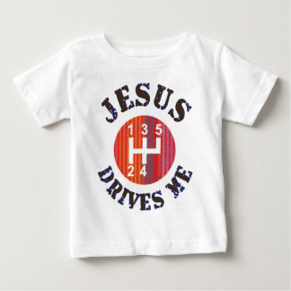 Christian baby t-shirt - Jesus Drives Me