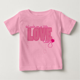Christian baby t-shirt - Little Love Bug