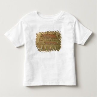 Christian basilica, mosaic pavement, Roman period, Tee Shirts