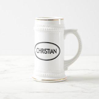 Christian Beer Steins