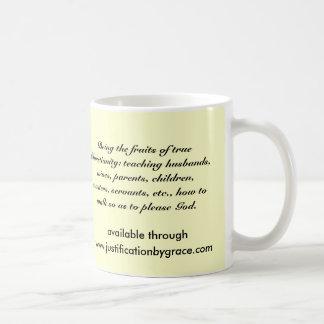 Christian Behavior Coffee Mugs