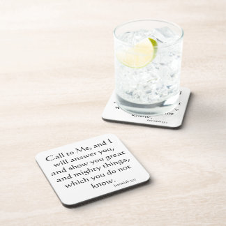 Christian Believer Bible Inspirational Jesus Coaster