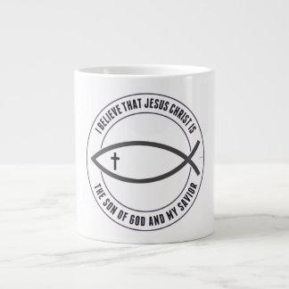 Christian Believers 20 Oz Large Ceramic Coffee Mug