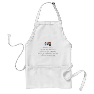 Christian,Bible Quote,Place my Family in God's han Standard Apron