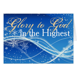 Christian Bible Verse Personalized Christmas Card