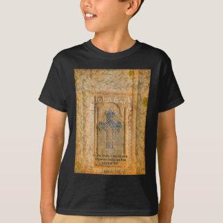 Christian Biblical Quote Renaissance Cross T-Shirt