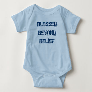 Christian Blessed Beyond Belief Baby Bodysuit
