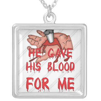 Christian Bold Message Necklace
