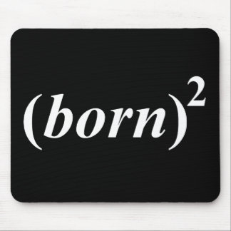 "Christian ""born again"" mouse pad"