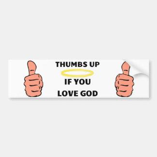 Christian Bumper sticker
