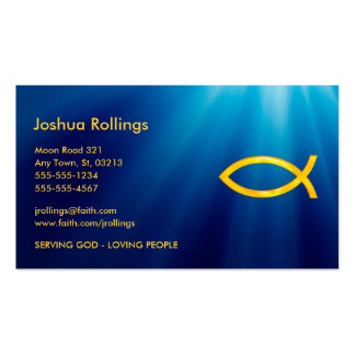 Christian Business Card Business Card