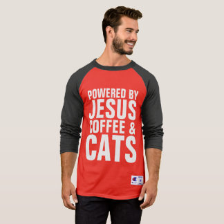 Christian Cat T-shirts, JESUS CATS COFFEE T-Shirt