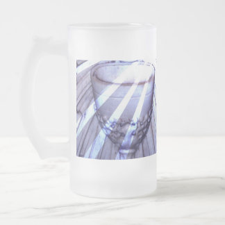 Christian Chalice Frosted Beer Mugs