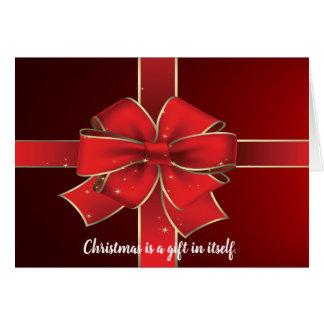 Christian Christmas Gift Holiday Card