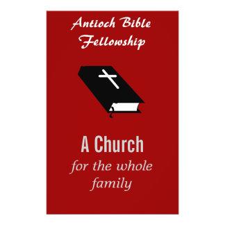 "Christian Church Flyer Customizable"""