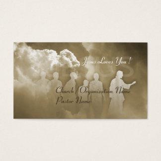 Christian Church Jusus Business Card