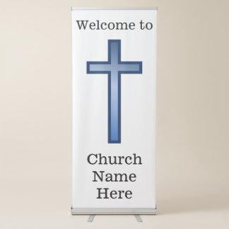 "Christian Church ""Welcome"" Vertical Banner"