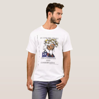 Christian & Conservative. T-Shirt