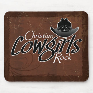 Christian Cowgirls Rock Mouse Pad