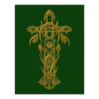 Christian Cross 67 21.5 Cm X 28 Cm Flyer