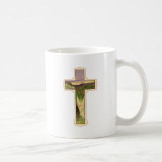 Christian Cross Basic White Mug