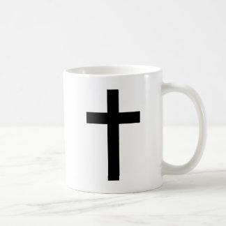 """""""CHRISTIAN CROSS"""" BASIC WHITE MUG"""