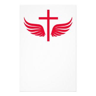 Christian cross flyer