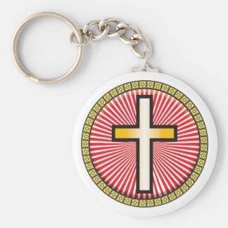 Christian Cross Icon Keychains