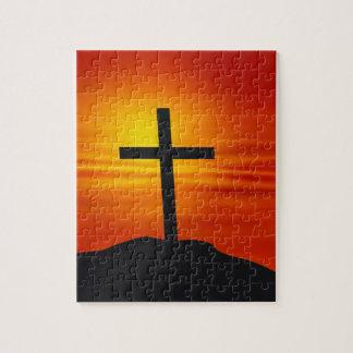 CHRISTIAN CROSS JIGSAW PUZZLE