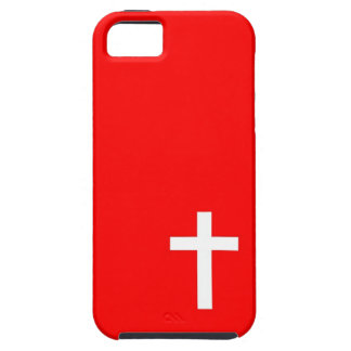 Christian Cross Minimal Red Iphone 5 5s case
