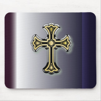 Christian Cross Mouse Pad