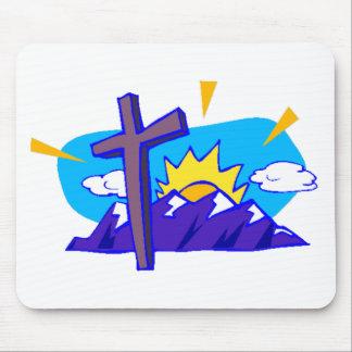 Christian Cross Mousepad