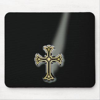 Christian Cross Mouse Pad