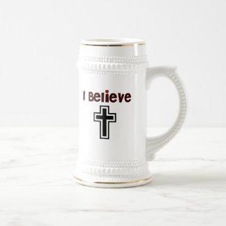 Christian Cross Coffee Mugs
