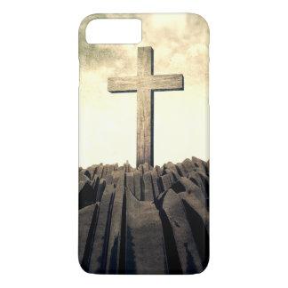 Christian Cross On Mountain iPhone 8 Plus/7 Plus Case