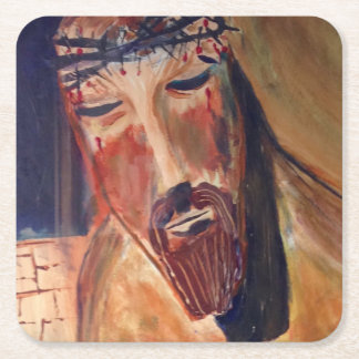 Christian Custom Square Coasters