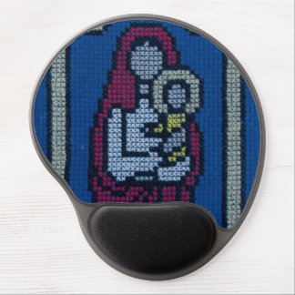 Christian embroidery gel mouse pad