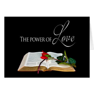 Christian Encouragement - Power and Love - Bible Greeting Card