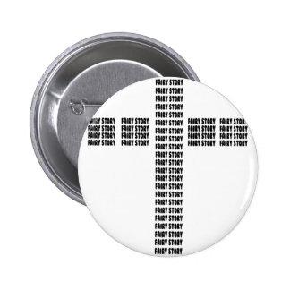 Christian fairy tale button