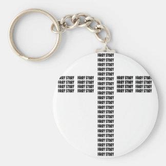 Christian fairy tale keychain