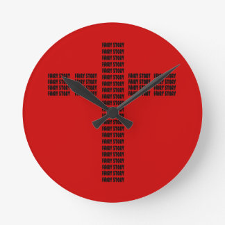 Christian fairy tale wall clock