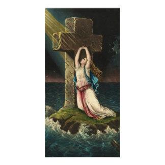 Christian Faith by George Schlegel Photo Greeting Card