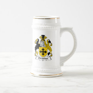 Christian Family Crest Coffee Mugs