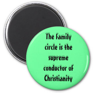Christian Family Magnet