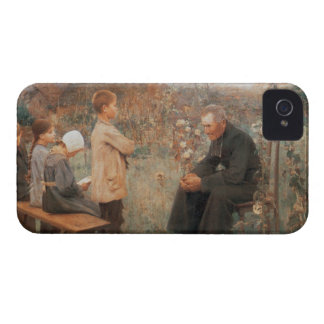 Christian Fine Art Vintage French Painting iPhone 4 Case-Mate Cases